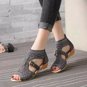 Women's Wedges Summer Gladiator Casual Sandals